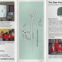 Newspaper Cuttings  & Leaflet for The Dale Primary School