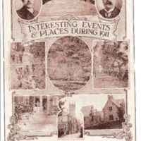 Interesting Events & Places during 1911 : Text & Pictures