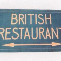 British Restaurant Poster : WW2