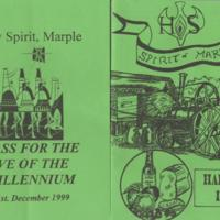 Flyers & Programmes for events at Holy Spirit : 1992 - 2002