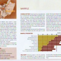 Two Community Strategy Leaflets  : Traffic Consultations