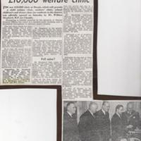 Misc. Newspaper Cuttings re Health Provision in Marple from 1956