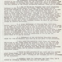 Request letter to Mr Fraser : 1976