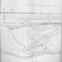 Estate Map of Property of N Wright Esq 1811
