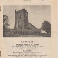 Mellor Parish Church Magazine : January 1958