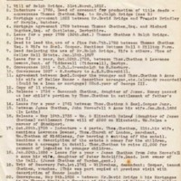 Research from Mellor Hall Deeds by Tom Oldham