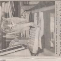 Newspaper cuttings relating to Marple / Compstall Libraries