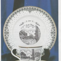 Marple Bridge Commemorative Porcelain for Millennium