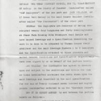 Agreement : UDC and Jack Williams : Dwelling at Peace Farm : 1937