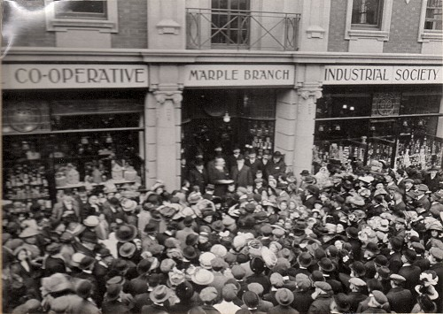 Opening Marple Co-op 1913