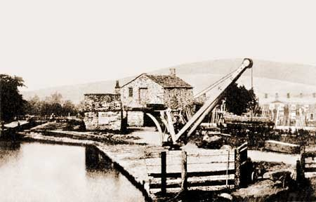 black wharf from Peak Forest Canal website