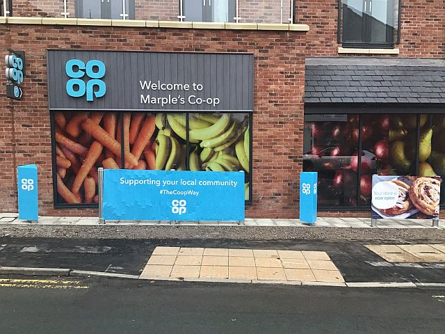Marple co-op opening