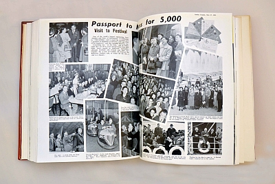 5000 employees to the Festival of Britain 1951