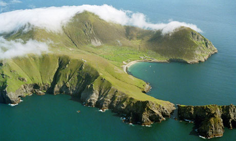 St Kilda from the air