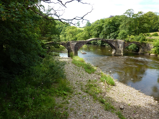 Old Lower Hoddle Bridge, Clitheroe