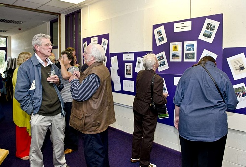 Launch of Marple Local History Society's 60 Years of History Exhibition